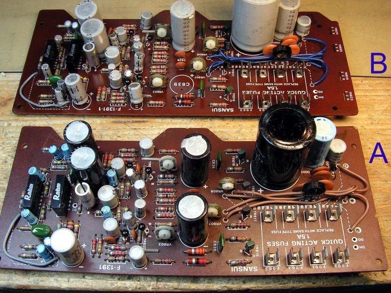 Sansui Vintage Audio Parts : Sansui Board F-1391 for Quad