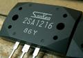 Genuine Sanken LAPT power transistors 2SA1216 2SC2922, one pair