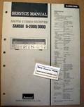 Sansui G2000 G 3000 Original Paper Service Manual