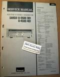 Sansui G3500 / 301 G4500 / 401 Original Paper Service Manual