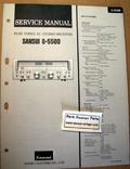 Sansui G5500 Original Paper Service Manual