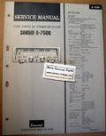 Sansui G7500 Original Paper Service Manual