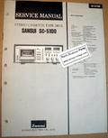 Original Paper Service Manual for Sansui SC-5100 Cassette Deck