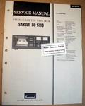 Original Paper Service Manual for Sansui SC-5110 Cassette Deck