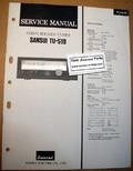 Sansui TU-519 Original Paper Service Manual