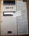 Sansui TU-719 Original Paper Service Manual