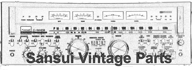 Sansui Vintage Audio Parts